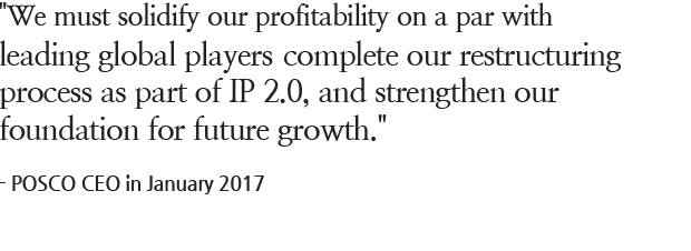 must solidify our profitability on a par with leading global players, complete our restructuring process as part of IP 2.0, and strengthen our foundation for future growth.